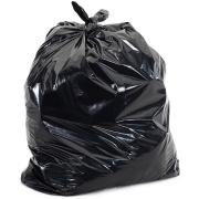 Saco para Lixo Reforçado de 300L Preto Pacote com 100 Unidades - Rava