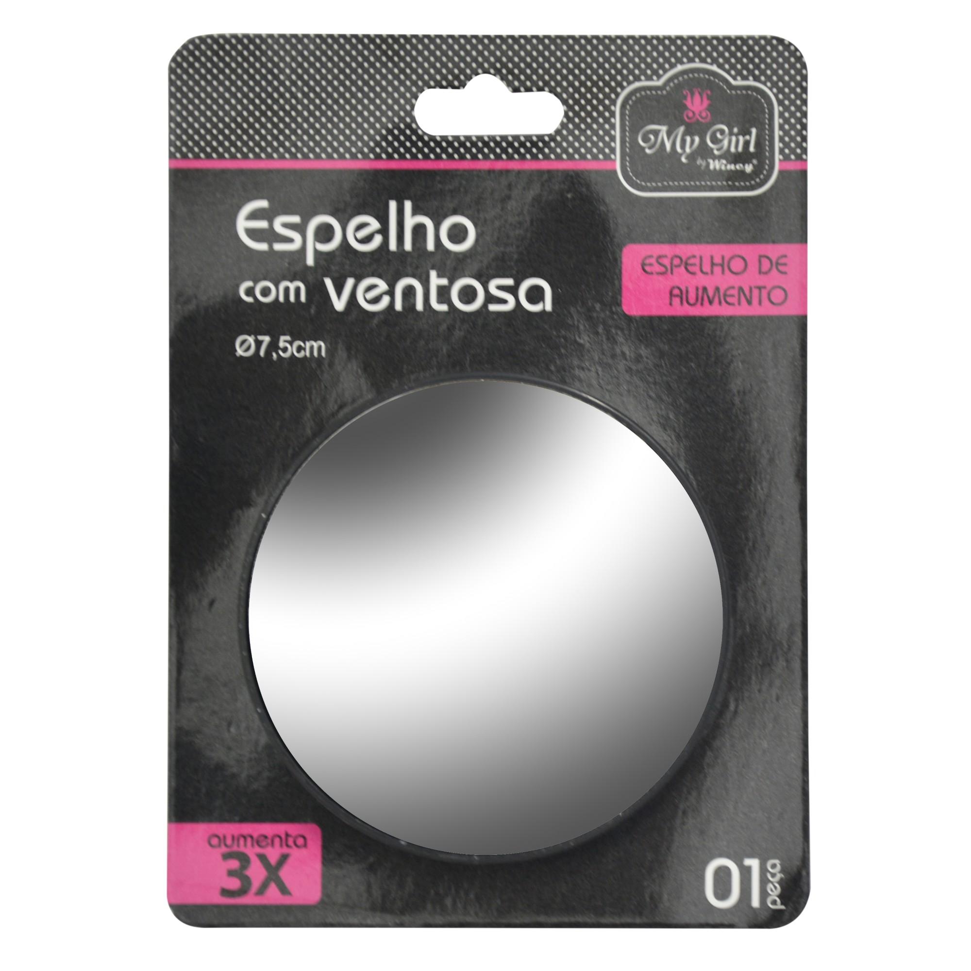 Espelho para Parede Redondo 2mm 75x75 cm com Moldura - Rio De Ouro