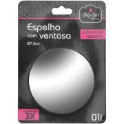 Espelho para Parede Redondo 2mm 7,5x7,5 cm com Moldura - Rio De Ouro