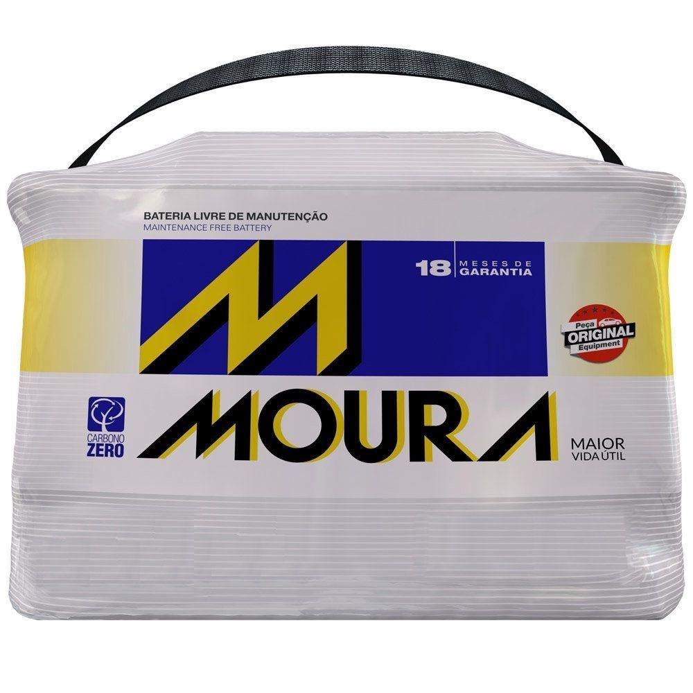 Bateria Automotiva 12V 75Ah Polo Positivo Direito M75LX MFA - Moura