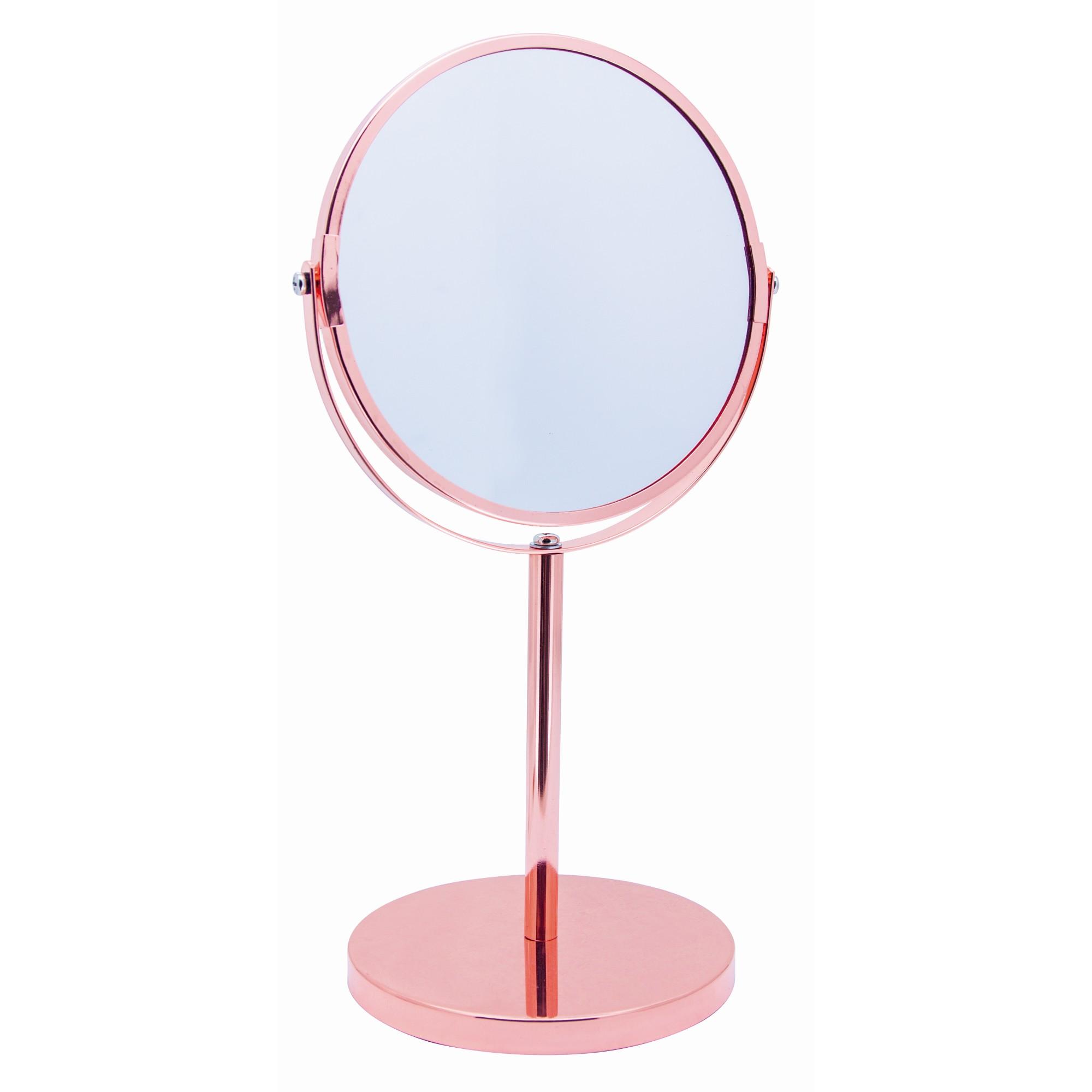 Espelho para Bancada Redondo 13mm 36x19 cm com Moldura - Mimo Style