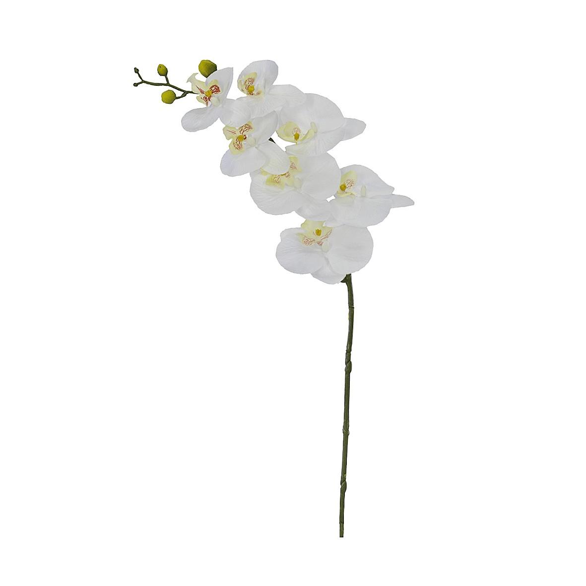 Haste de Flor Artificial 63cm Orquidea Real Toque - Dea
