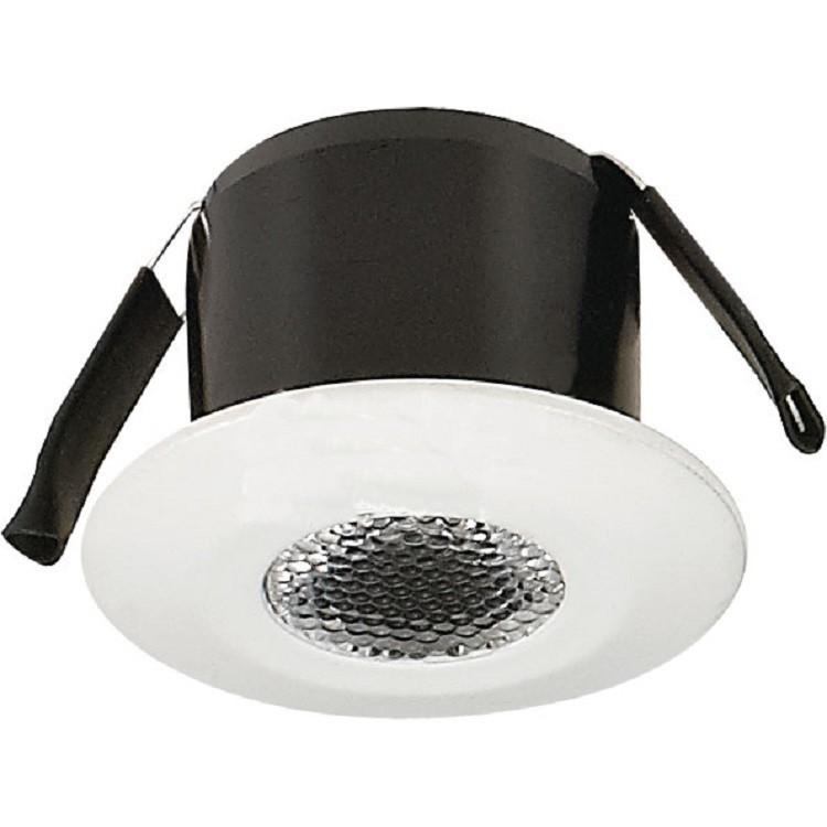 Spot LED de Embutir Aluminio Redondo 20w Branca - Ecoline