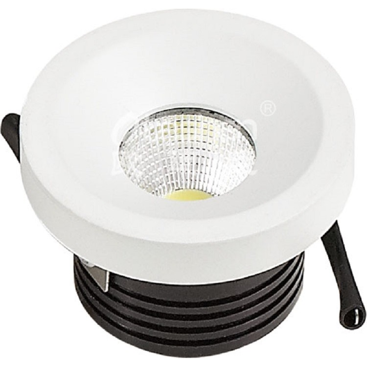 Spot LED de Embutir Aluminio Redondo 30w Amarela - Ecoline