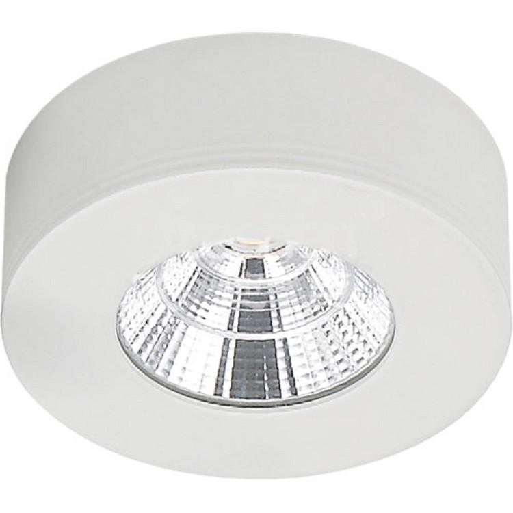 Spot LED de Sobrepor Aluminio Redondo 50w Amarela - Ecoline