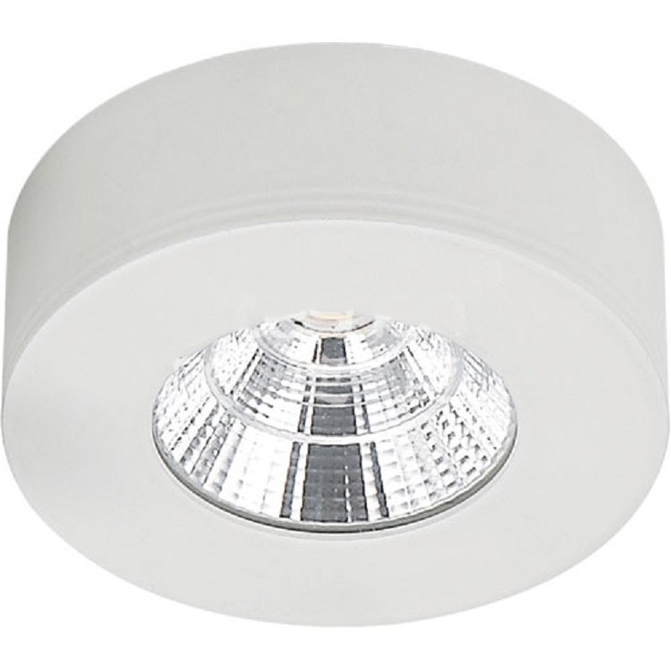 Spot LED de Sobrepor Aluminio Redondo 50w Branca - Ecoline