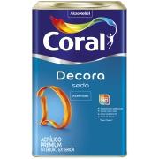 Tinta Acrílica Acetinado Premium 18L - Branco Neve - Acabamento Seda Coral