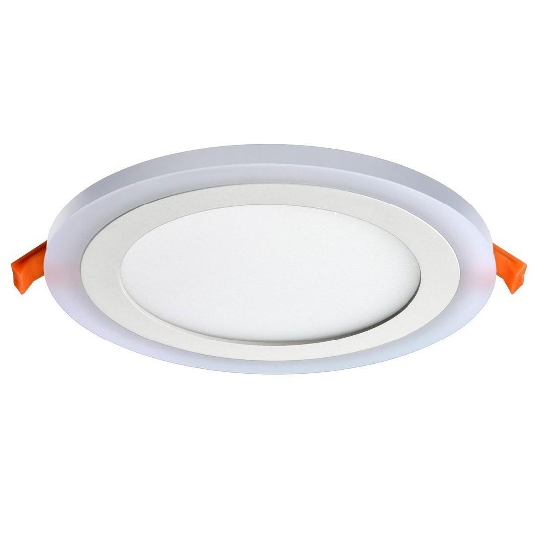 Painel LED de Embutir Redondo 9W Bivolt - Ecoline