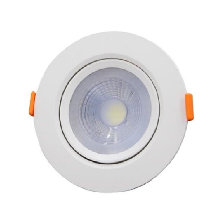 Spot LED de Embutir Plastico Redondo 30w Branca - Ecoline