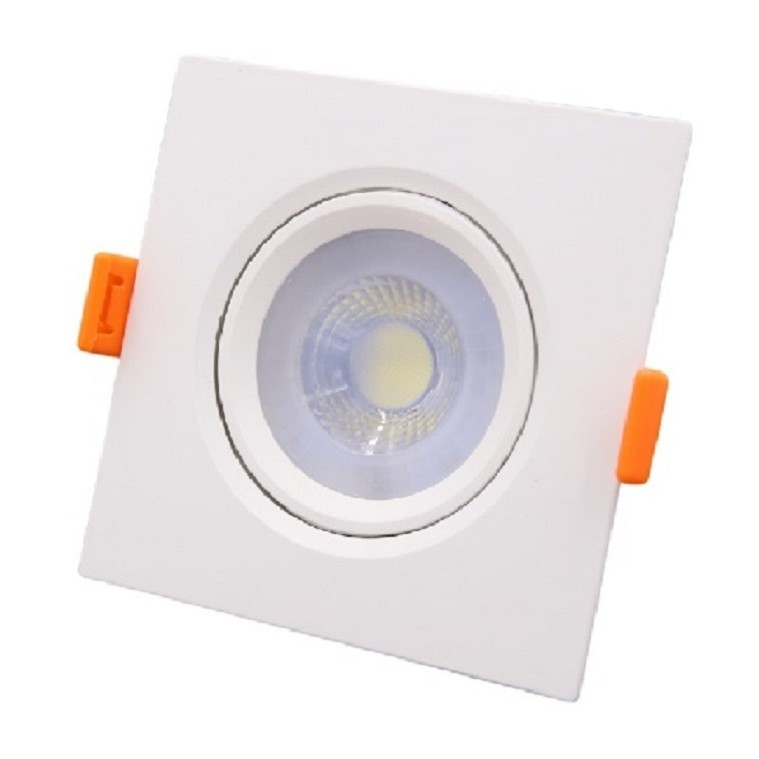 Spot LED de Embutir Plastico Quadrado 30w Branca - Ecoline