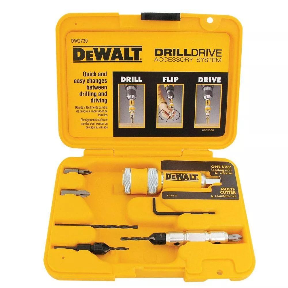 Jogo de 8 Pecas Drill Drive - DW2730 - DeWalt