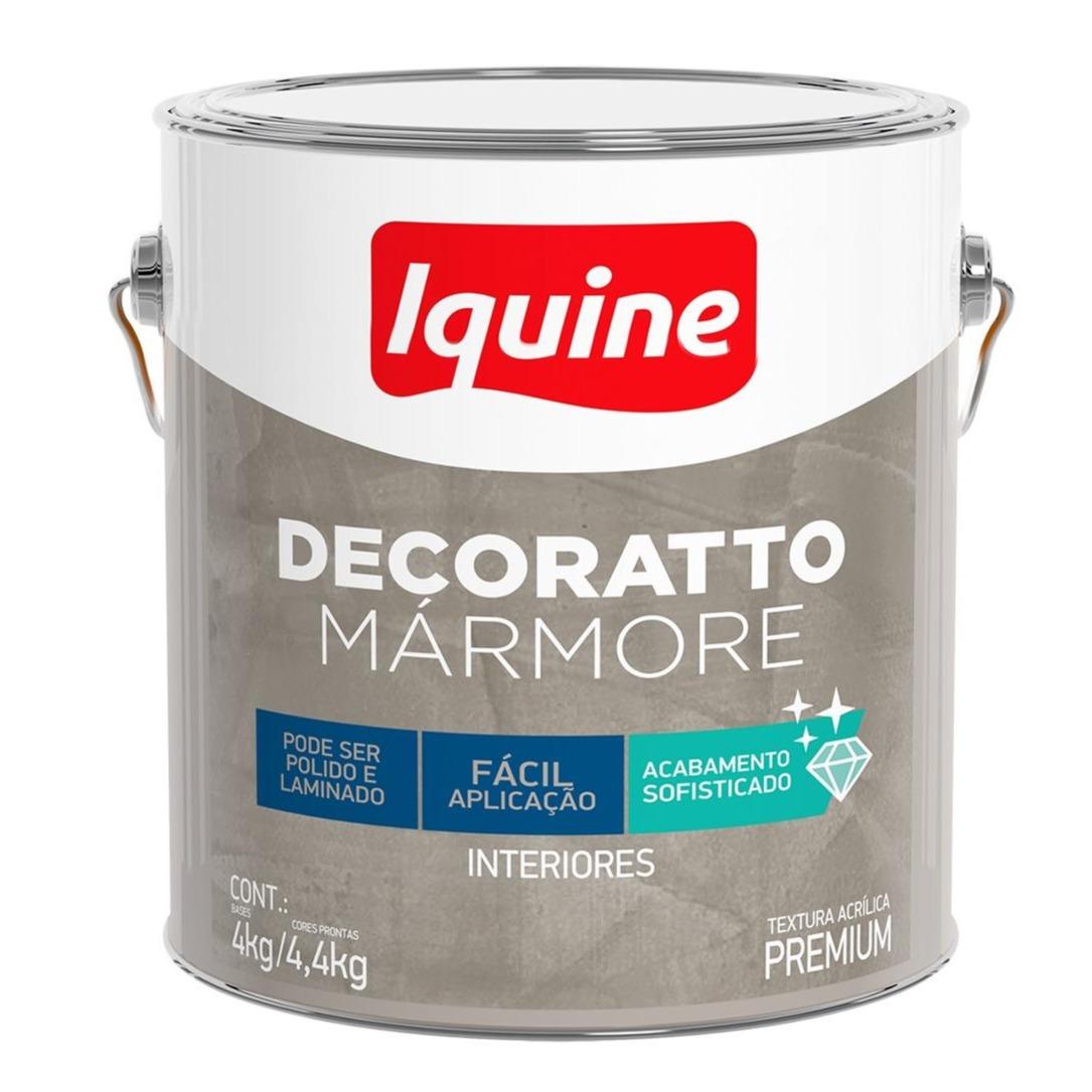 Revestimento Decoratto Marmore 44Kg Cimento Queimado - Iquine