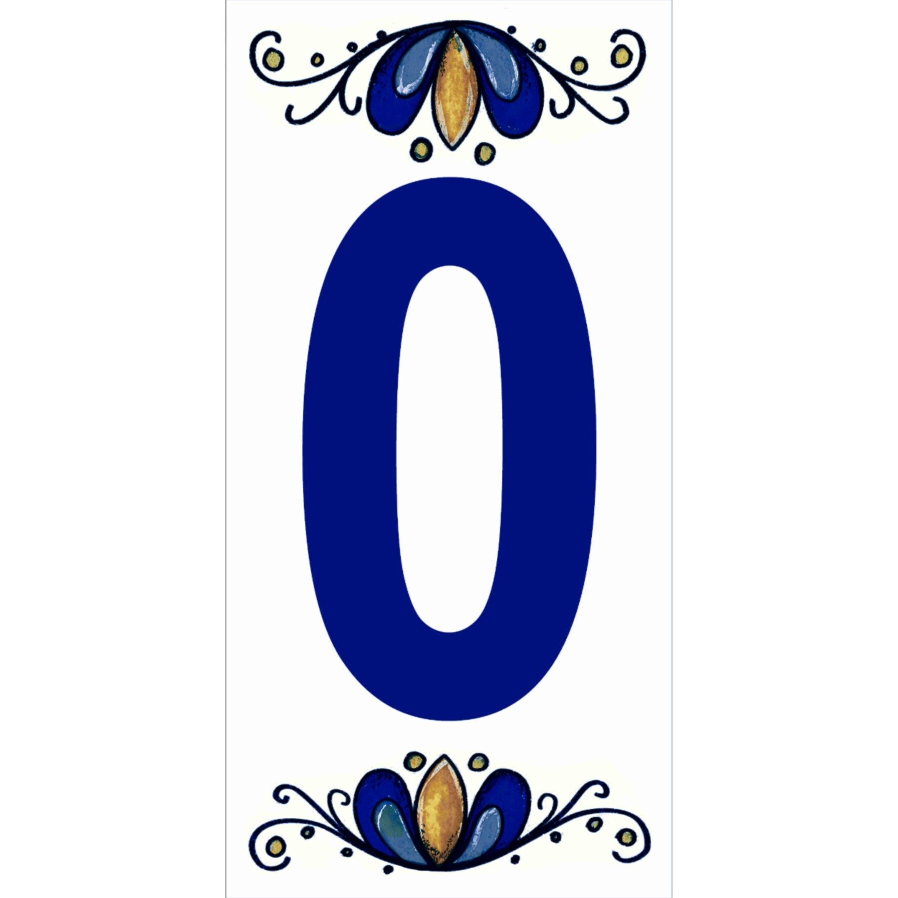 Numero 0 Ceramica - Gabriella