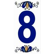 Número 8 Cerâmica - Gabriella