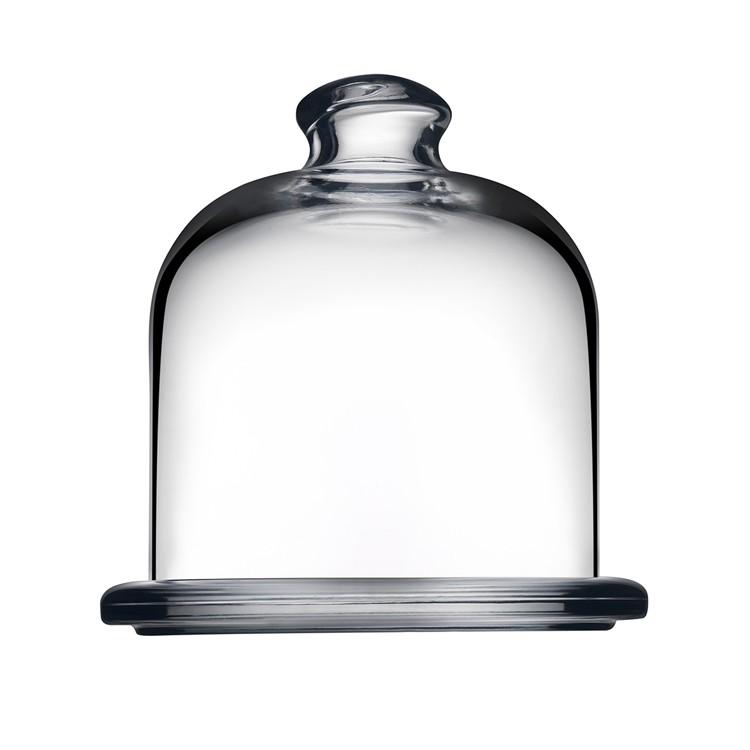 Queijeira de Vidro com Cupula 10cm - Full Fit