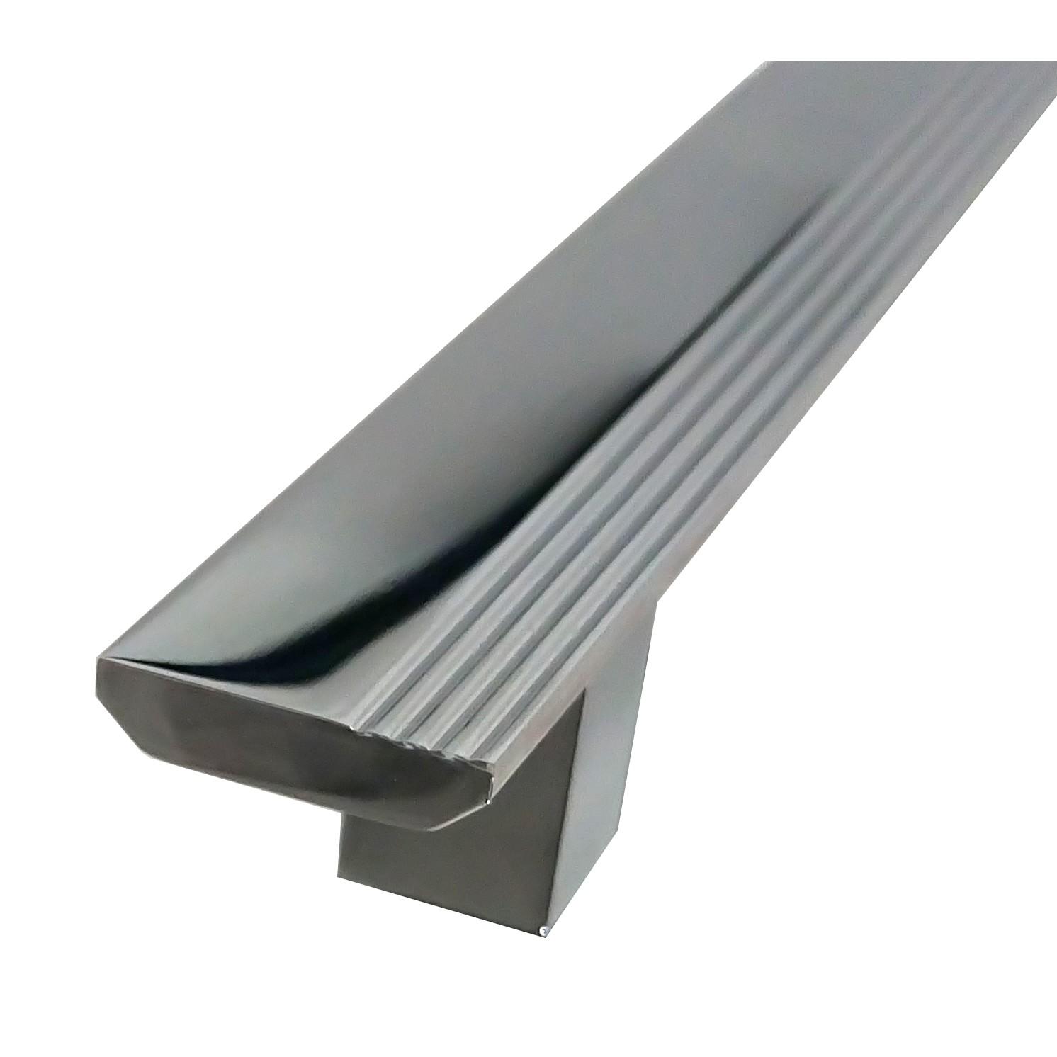 Puxador de Aluminio Cromado 256 mm - Turim Hastvel