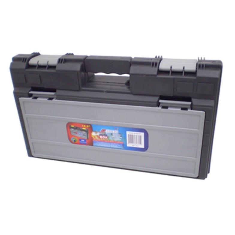 Caixa para Furadeira Plastico 19 com Divisoria Preta 5007 - Arqplast