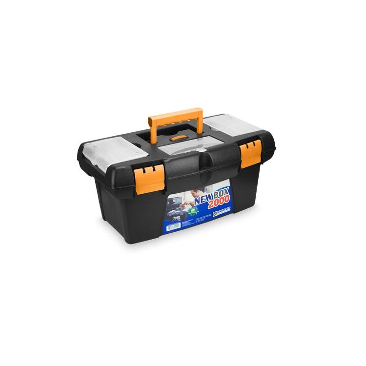 Caixa para Ferramentas de Plastico Bandeja Organizadora Newbox 2000 - Arqplast