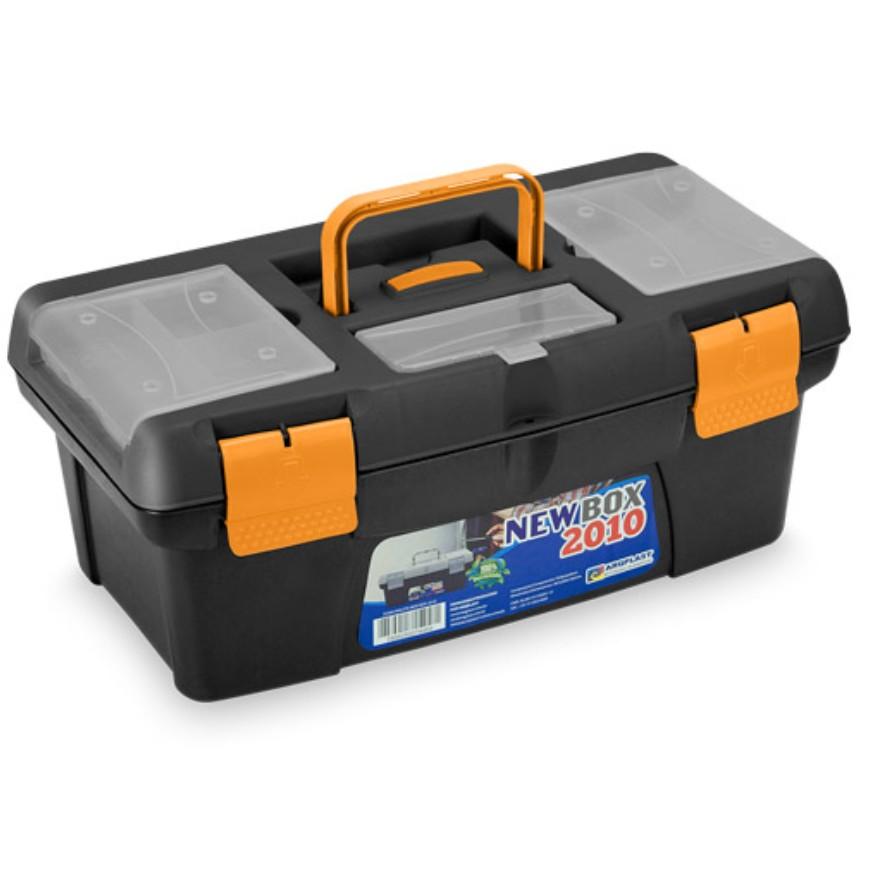 Caixa para Ferramentas de Plastico com Bandeja Organizadora Newbox 2010 - Arqplast