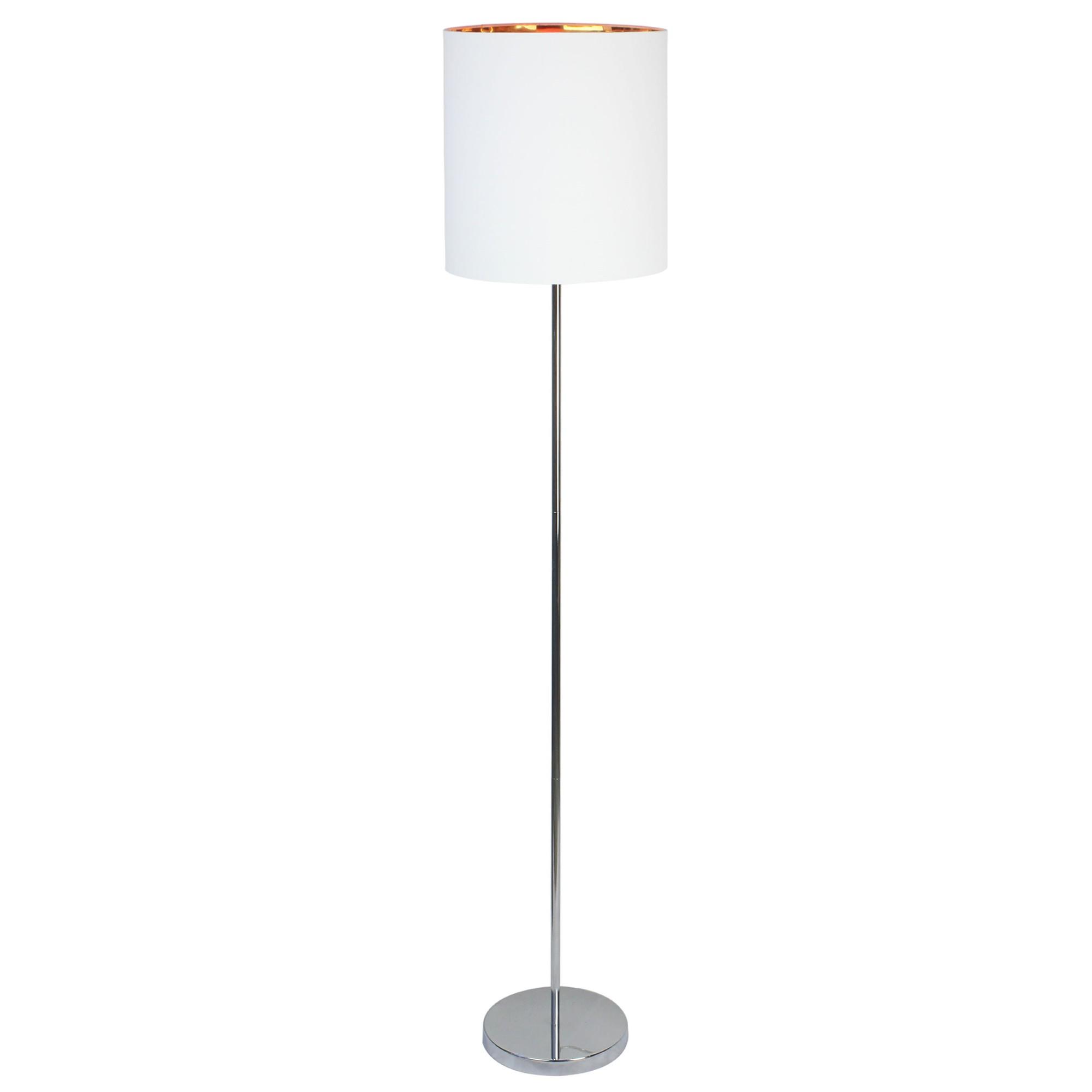 Luminaria Coluna de Aco e Tecido 165m Branca 7570 - Ecoline