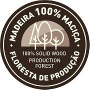 Estante Tramontina 3 Prateleiras Madeira Pinus com Acabamento Natural 75,2cm