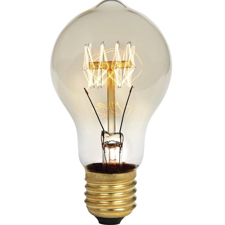 Lampada de Filamento Pera 40W Transparente Amarela E27 220V - Glight