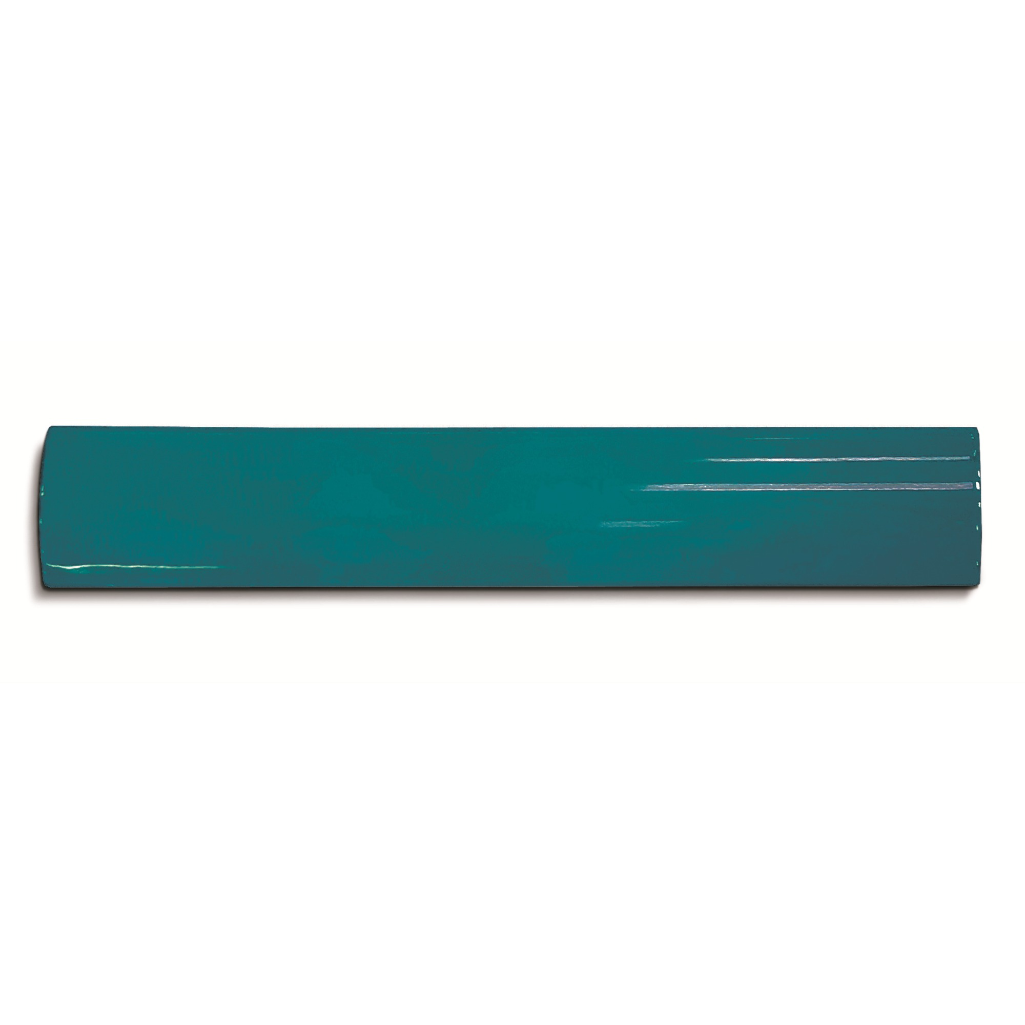 Canaleta Ceramica 25x20 cm Azul mar - Eliane