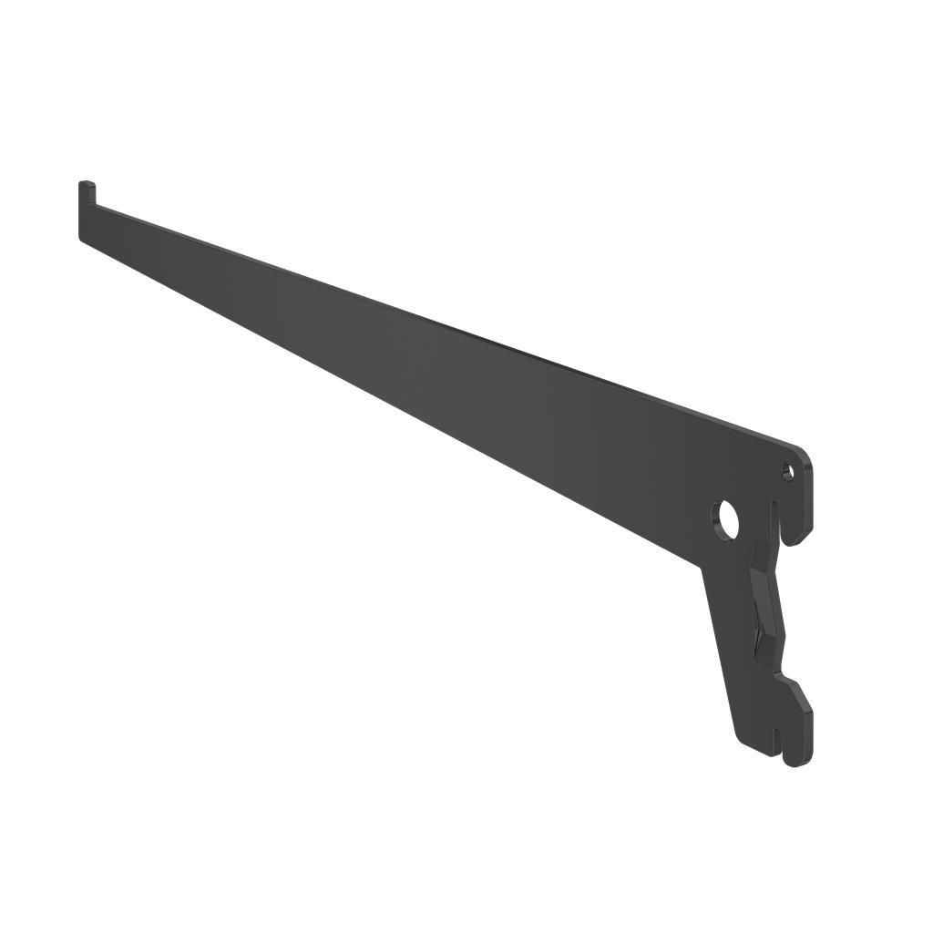 Suporte para Trilho de Aco 30 cm Preto 0005 - Fico