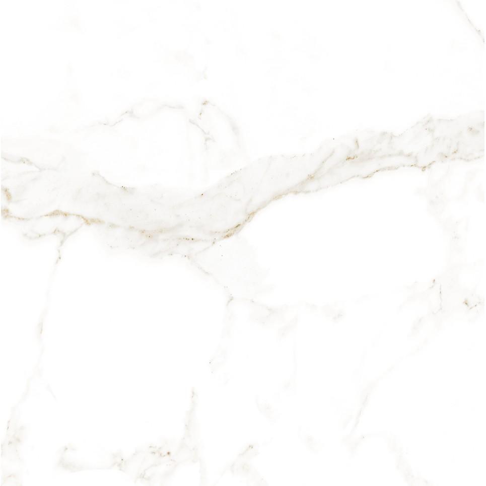 Porcelanato Statuario Bianco Esmaltado Polido HD Tipo A Retificado 62x62cm 233m Branco - Biancogres