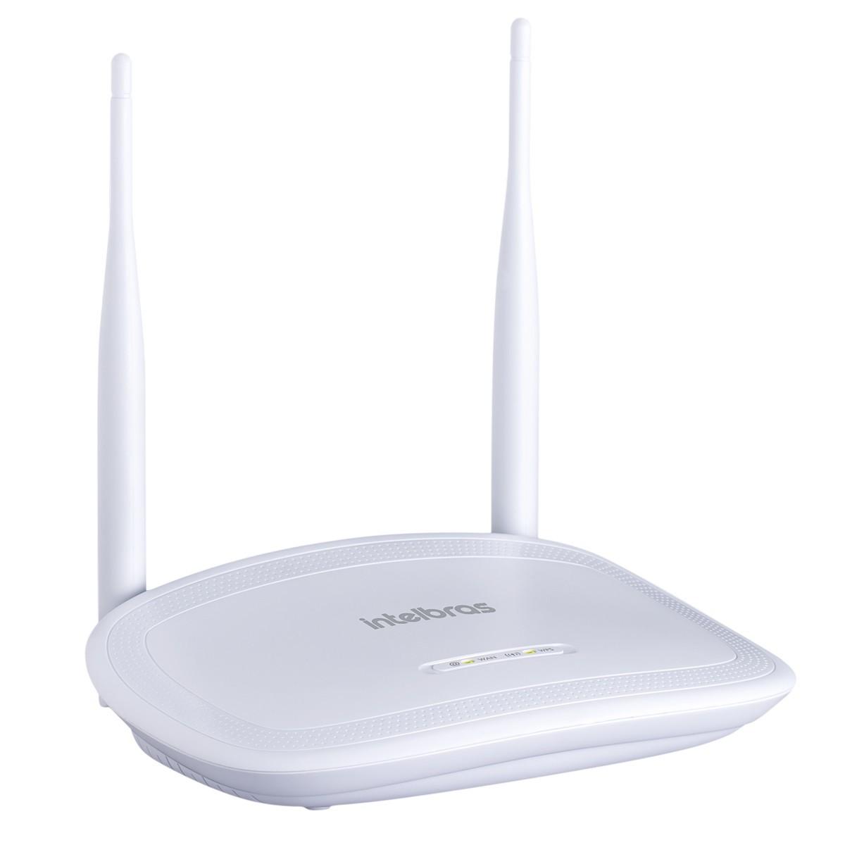 Roteador Wi-fi 300Mbps Intelbras - IWR3000N