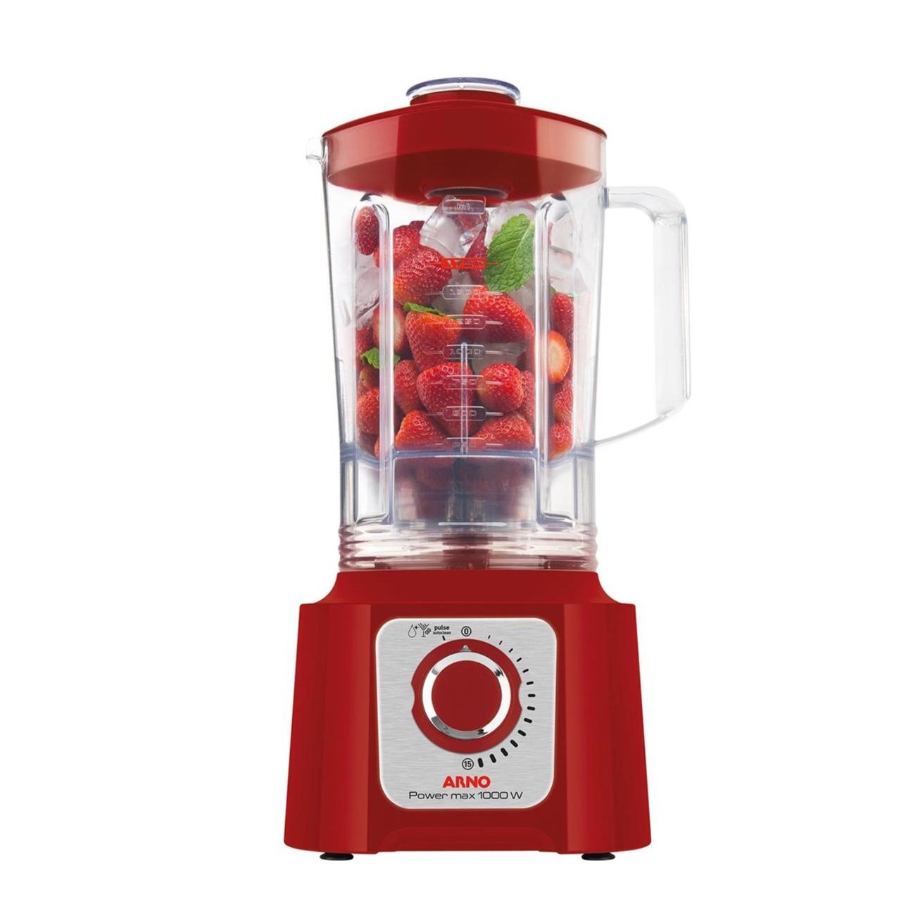 Liquidificador Arno 1000W Vermelho 220V - LN54-220