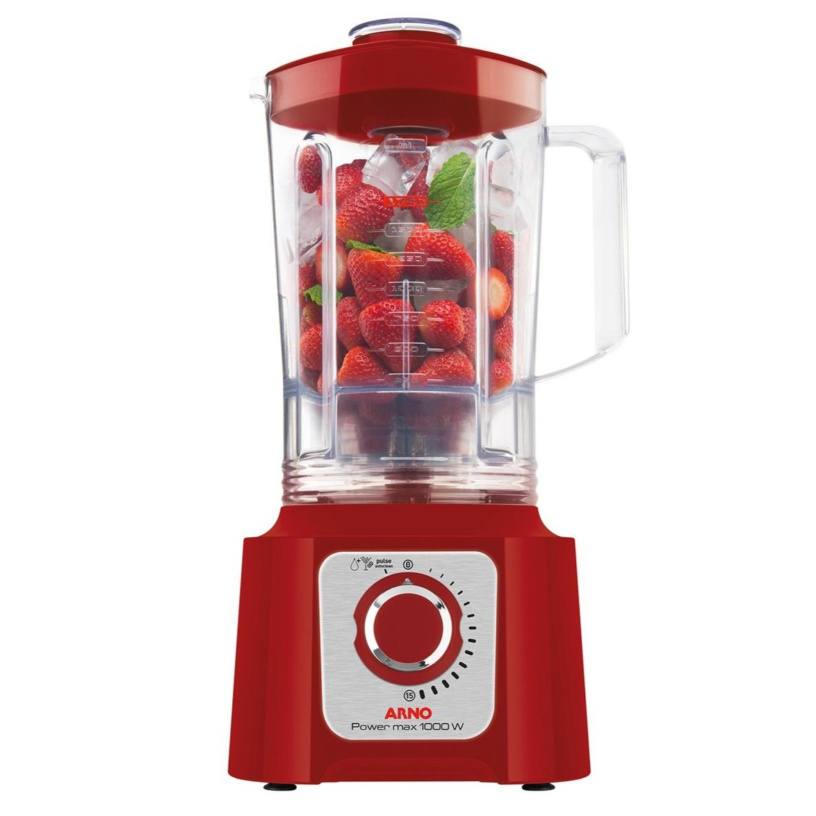 Liquidificador Arno 1000W Vermelho 127V - LN54-127