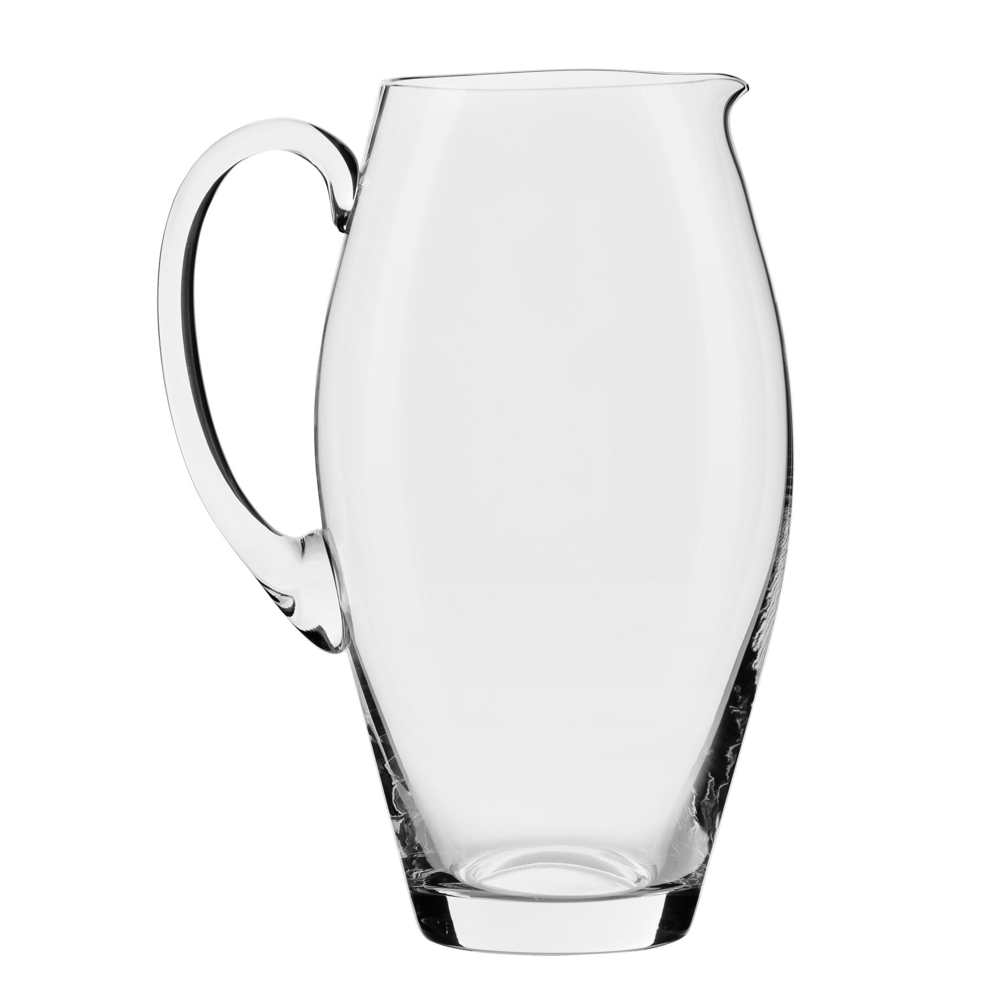 Jarra Serena de Cristal 22L Transparente - Oxford