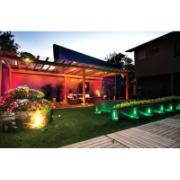 Luminária de Jardim Espeto LED Preta com Luz Amarela New Bivolt - Iluctron