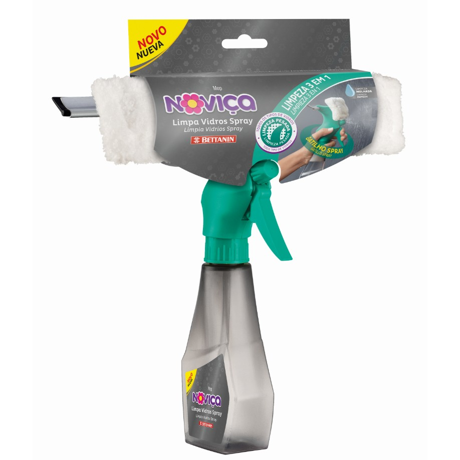 Rodo Limpa Vidros Pulverizador Spray - Bettanin