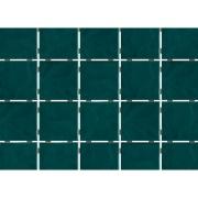 Revestimento de Parede Brilhante Craquelada 1,59m² 7,5x7,5cm Verde Musgo Onda Mesh - Eliane