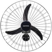 Ventilador de Parede Ventisol Premium Preto Bivolt - 60cm 3 Velocidades