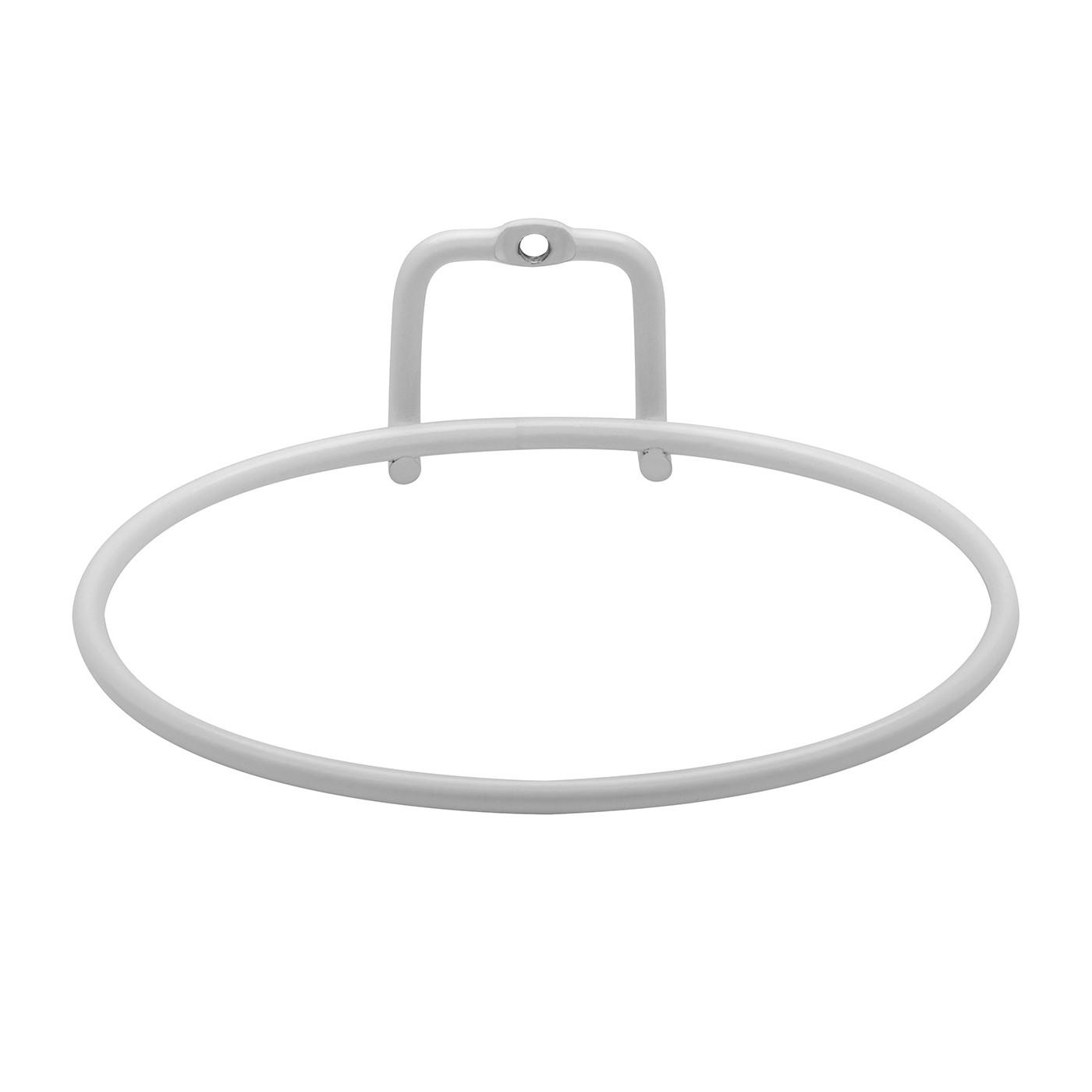 Suporte para Vaso Aramado 14x15 cm Branco Fosco - Ou