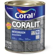 Tinta Esmalte Sintético Brilhante Premium 0,9L - Tabaco - Coralit Coral