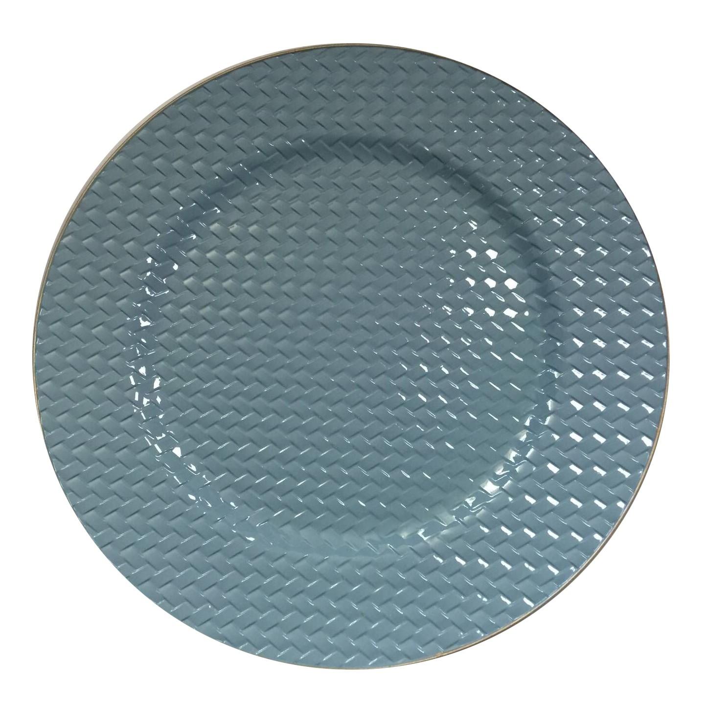 Sousplat Redondo Plastico 33cm - Full Fit