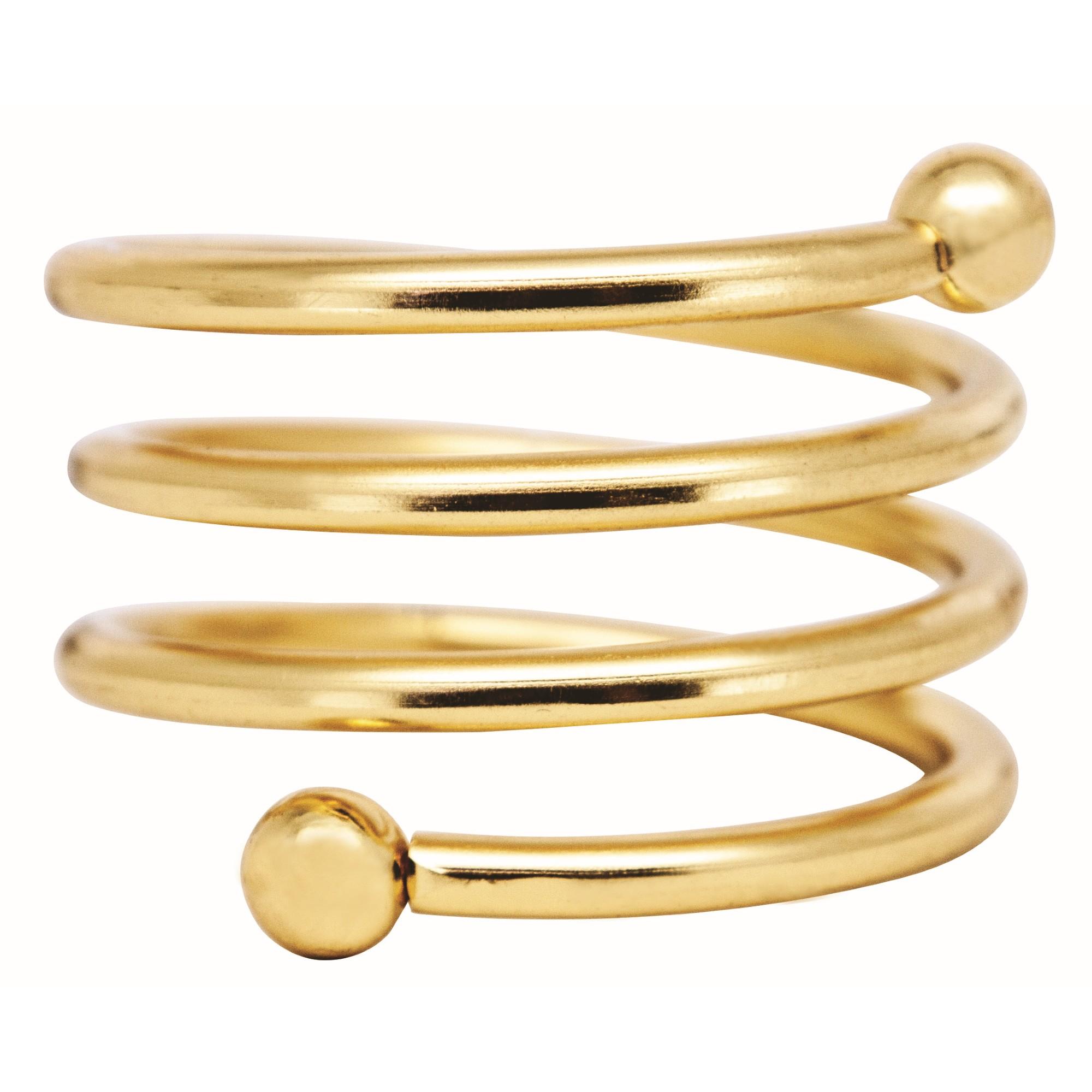 Argola para Guardanapo Aco Grecia Dourado 5868 - Mimo Style
