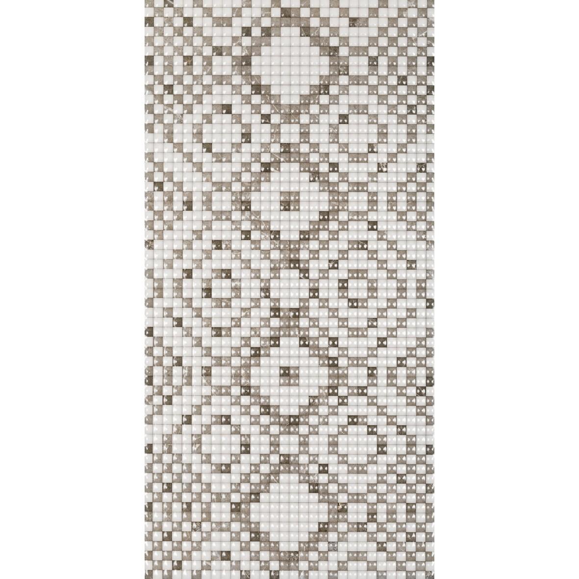 Ceramica Tom Bordado Brilhante HD Tipo A Borda Bold 30x60cm 237m Cinza Claro - Pointer