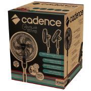 Ventilador de Coluna Cadence VTR865 Preto 127V - 40cm 3 Velocidades