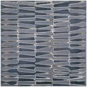 Porcelanato Mos Metallica Relevo HD Tipo A Retificado 60x60cm 1,43m² Azul Cobalto - Portobello