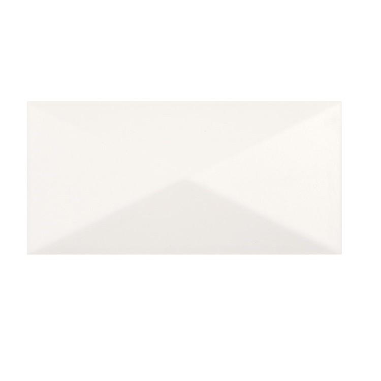 Revestimento Arpege Blanc Relevo HD Tipo A Retificado 10x20cm 015m Branco - Portobello