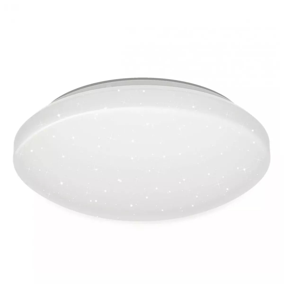 Plafon de Sobrepor Oval LED 20cm Branco - Taschibra