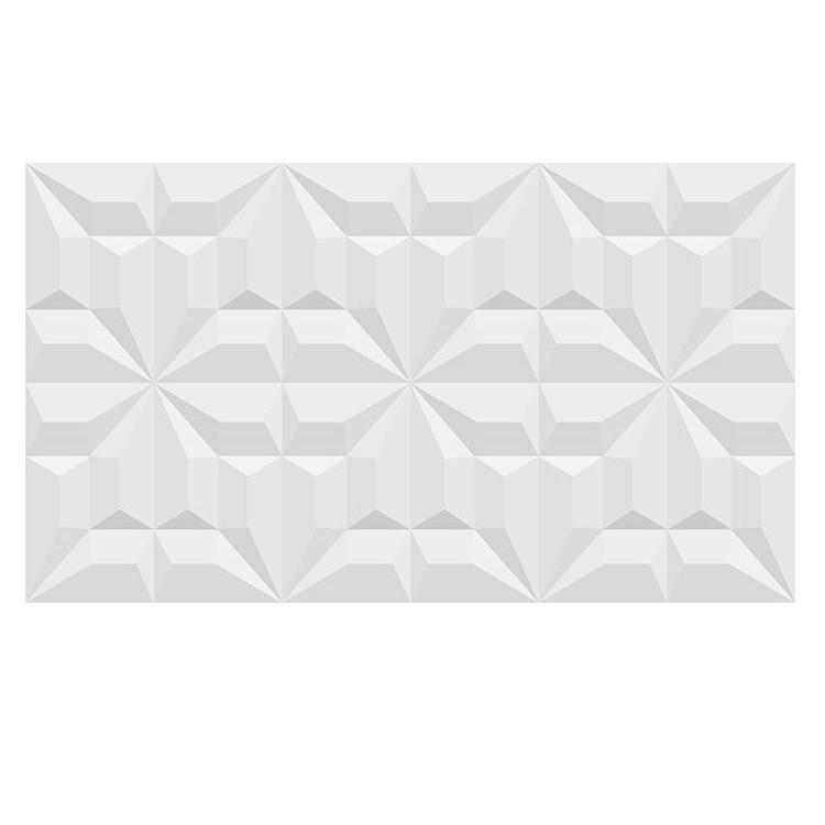 Revestimento RVI66220 Brilhante HD Tipo A Borda Bold 33x50cm 248m Branco - Incenor