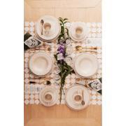 Aparelho de Jantar Marfim de Cerâmica 20 Peças - Oxford