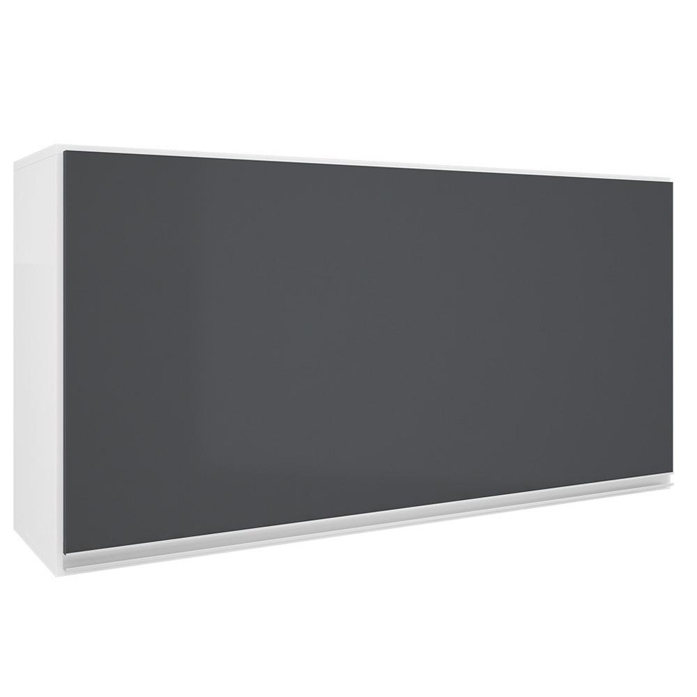 Armario Aereo 120cm 1 Porta Basculante Grafite Top Class - Batrol
