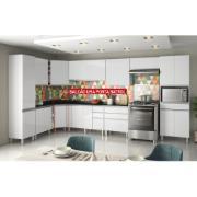 Gabinete Cozinha 1 Porta Top Class Branco - Batrol
